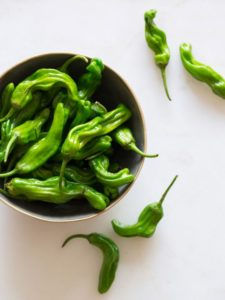 Shishito sweet pepper